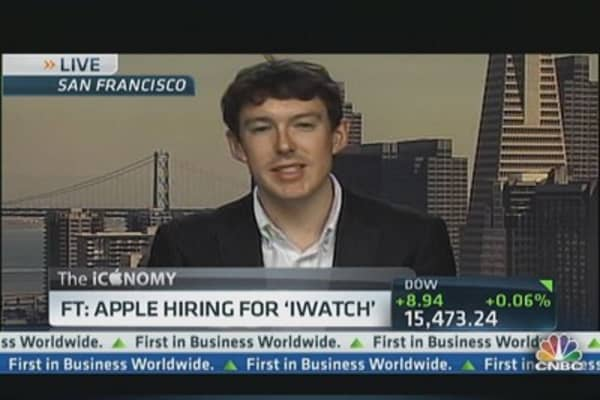 Apple hires for iWatch