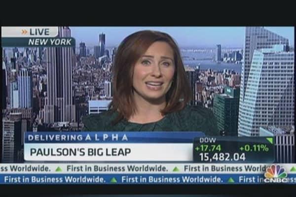 Paulson's big leap