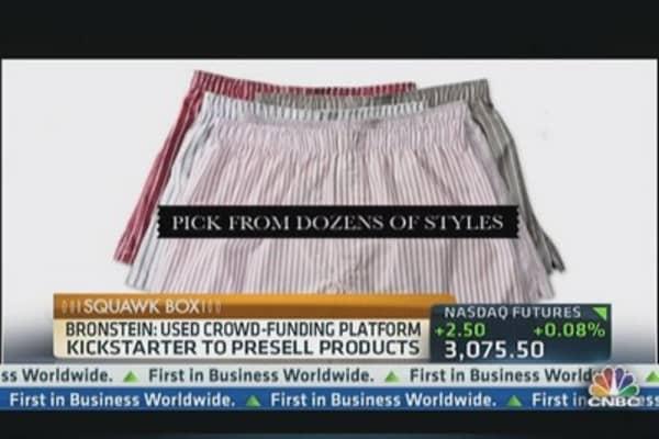 An underwear 'Kickstart' in the USA
