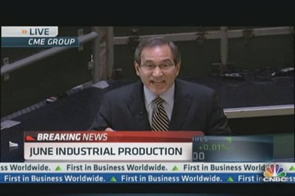 June Industrial production up 0.3%