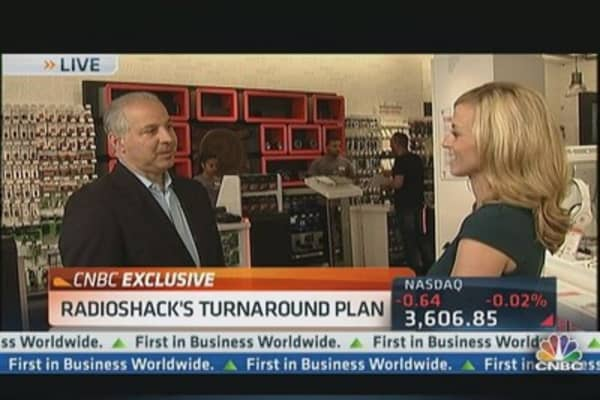 RadioShack CEO reveals game plan