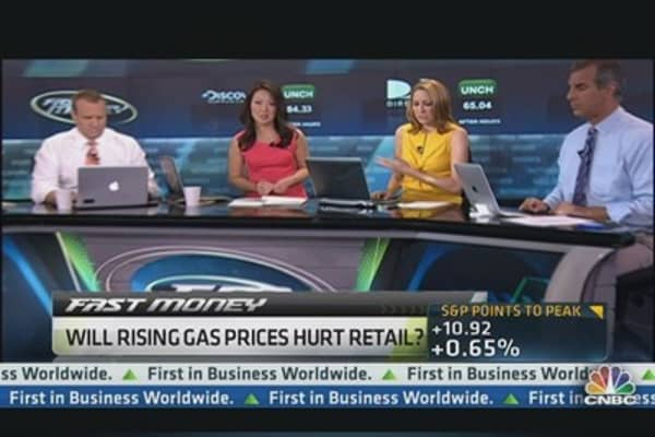 Rising gas prices to hurt retail?