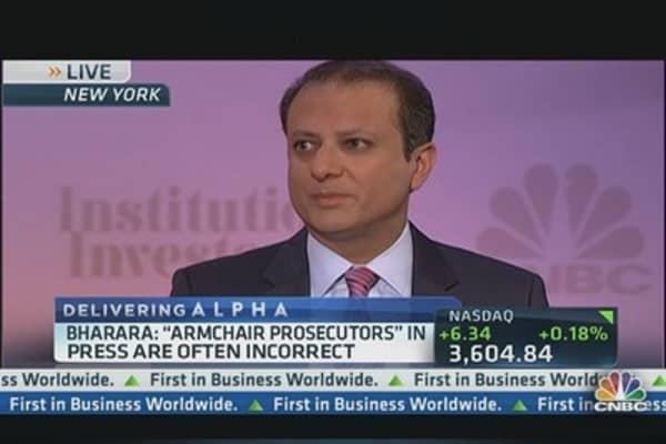 Bharara to Wall Street: 'People should be afraid'