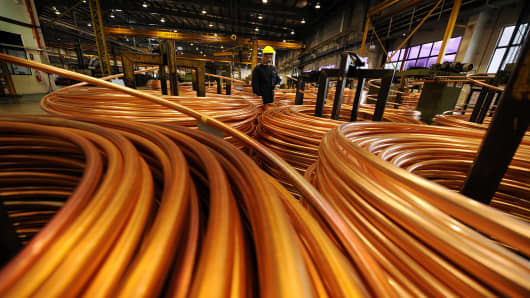 Copper production
