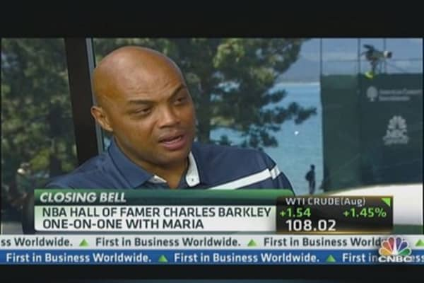 Charles Barkley on American Century Championship