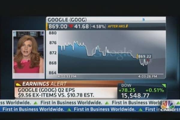 Google reports Q2 earnings