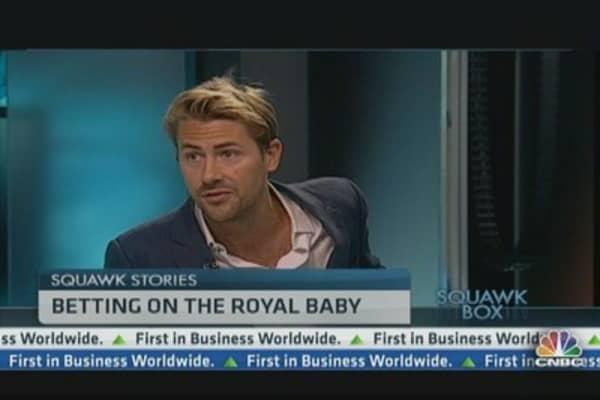 Royal baby, golf and cricket: betting heats up