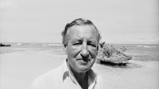 "Ian Fleming, ""James Bond"" author"