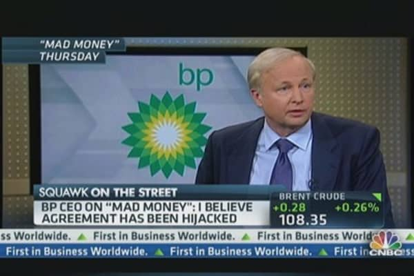 Dudley chastised for comments on BP claims