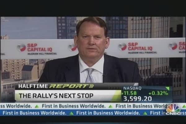 S&P heading toward 1,800: Strategist