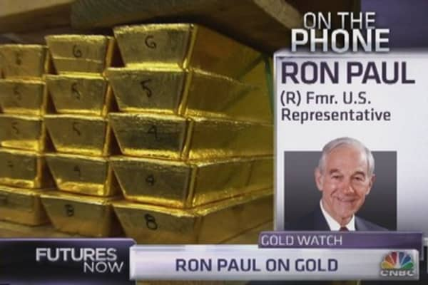 Ron Paul: Why I'm holding my gold