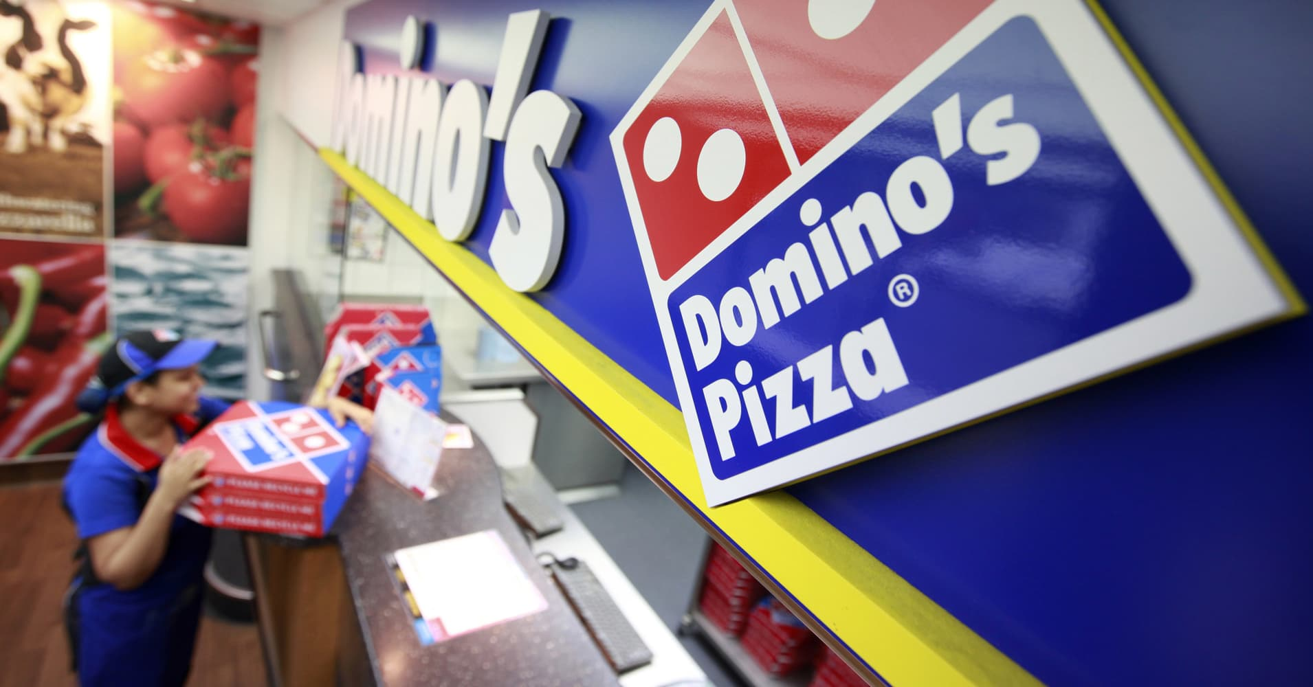 After betting big on digital, Domino's Pizza is eyeing the next big thing in tech