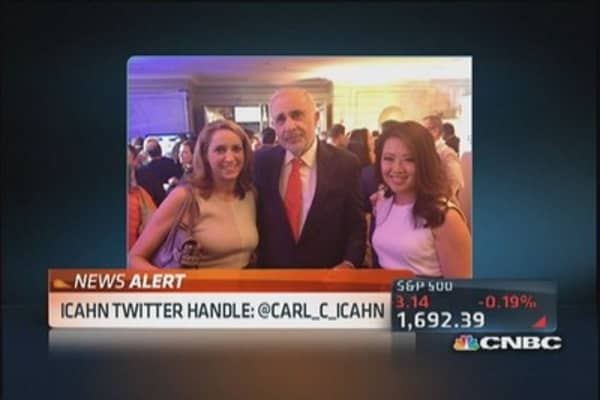 Carl Icahn promises Twitter surprise