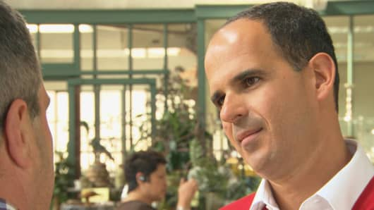 "Scene from ""The Profit"" with Marcus Lemonis"