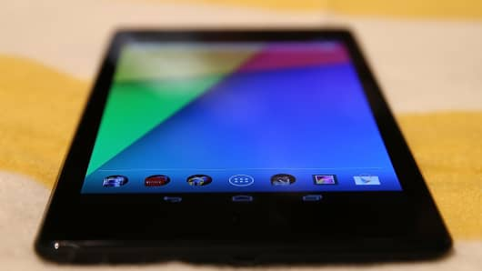 Google Inc on Wednesday showcased a new-generation, slimmer Nexus 7 tablet.