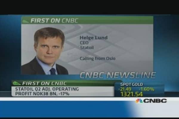 Statoil had record international production: CEO