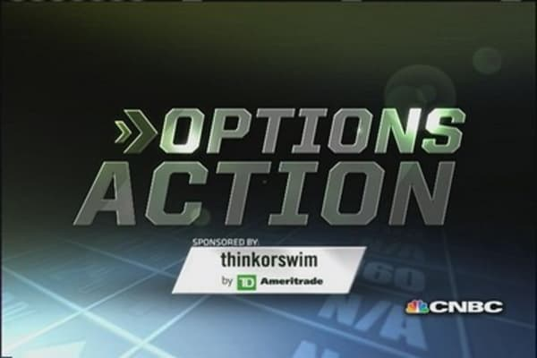 Options Action: Earnings save Facebook