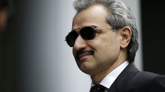 Prince Alwaleed Bin Talal, Saudi billionaire and founder of Kingdom Holding Co.