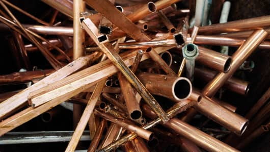 Copper theft is on the rise again.
