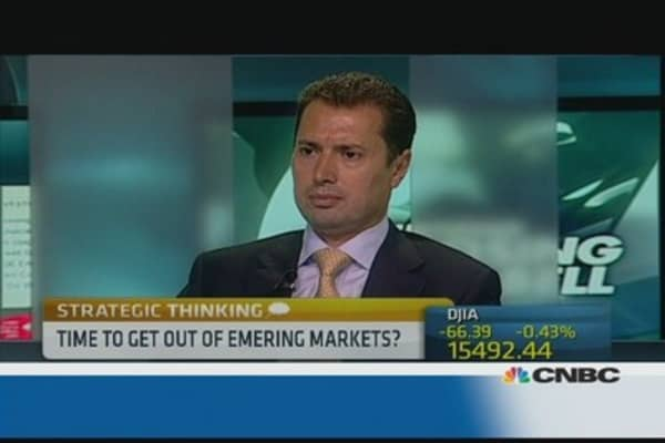 Is calm returning to emerging markets?
