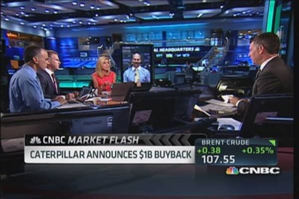 Caterpillar Announces $1B Buyback