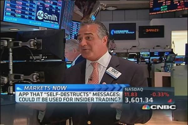 Snapchat on Wall Street