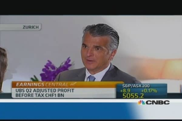 UBS CEO: We're best in class at disclosing our issues