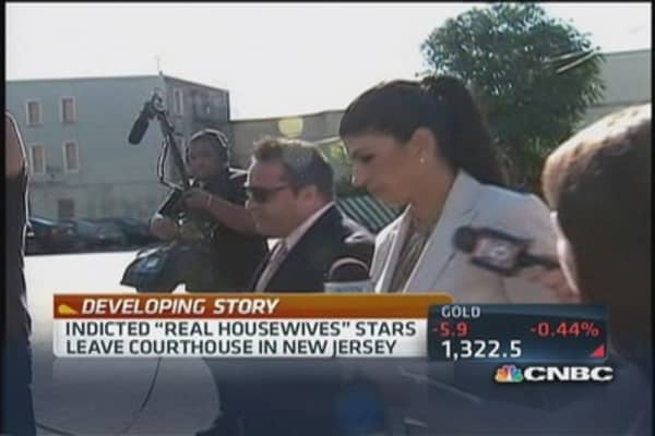 NJ's 'Real Housewives' stars indicted