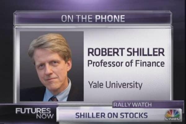 Shiller's take on stocks