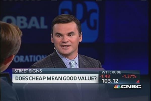 Does cheap mean good value?