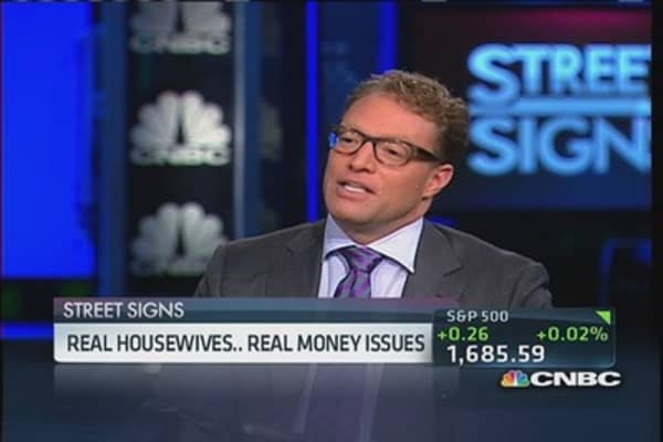 Real housewives, real money issues