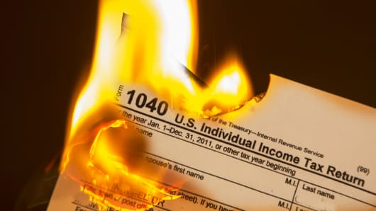 Fallout from financial scams can leave victims with heavy tax burdens.