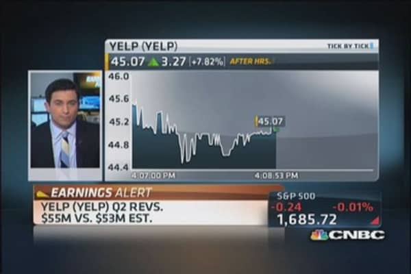 Yelp & Whole Foods report earnings