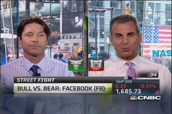 Debate It: Bull vs. bear on Facebook