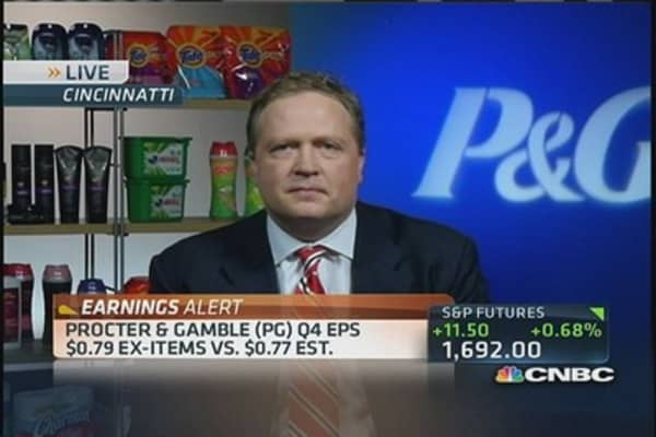 P&G's Q4 results beat top & bottom line