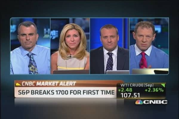 S&P tops 1,700; now what?