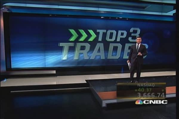 Top three trades