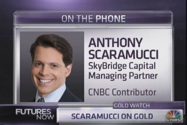 Impossible to justify owning gold: Scaramucci