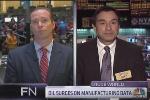 Will oil hit new highs?