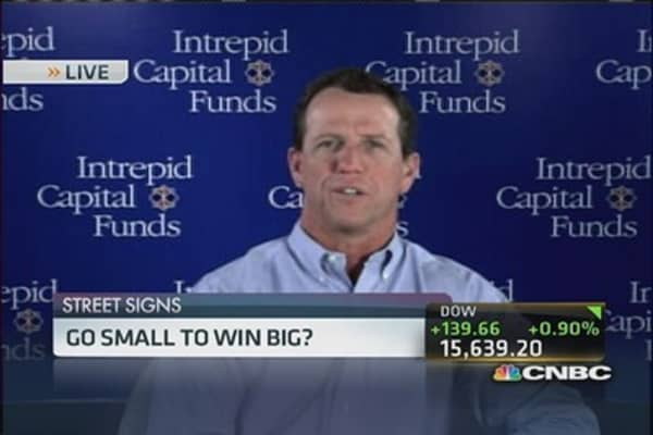 Go small to win big?