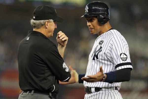 Yankees third baseman Alex Rodriguez