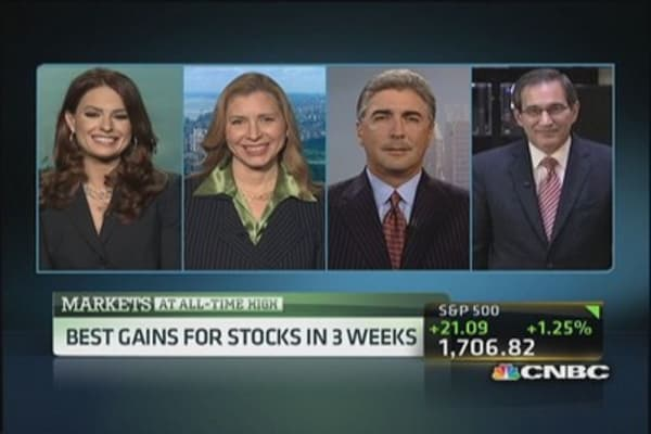 Historic highs for the markets
