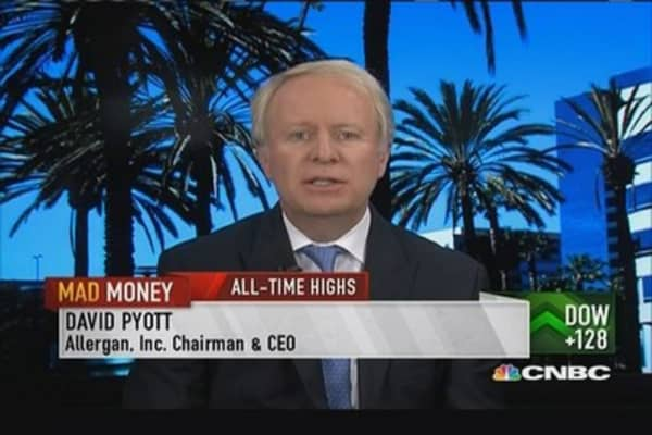 Allergan CEO: Botox is performing very well