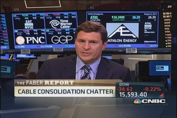 Faber Report: Cable consolidation chatter