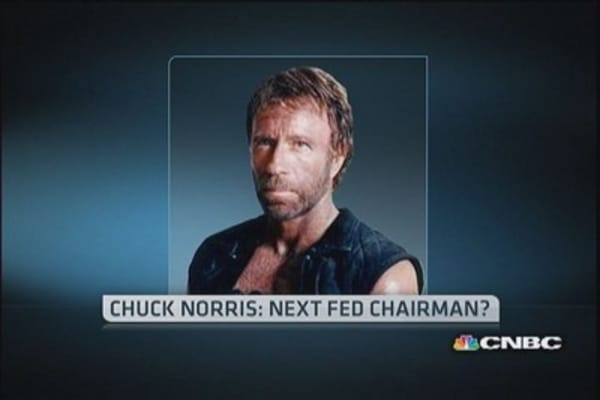 Chuck Norris for Fed chairman?