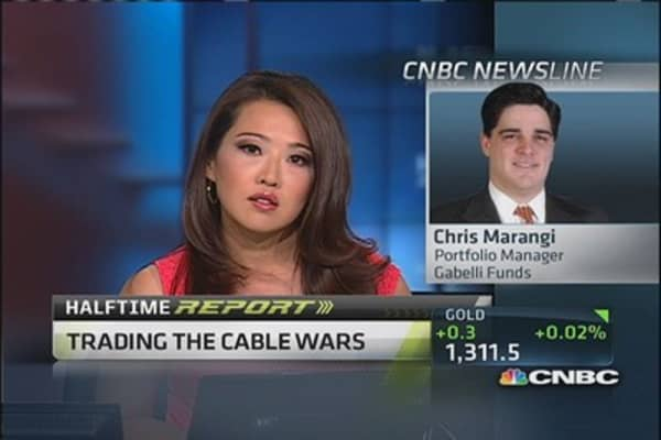 Trading the cable wars