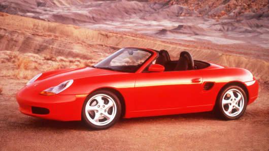 1997 Porsche Boxster Convertible