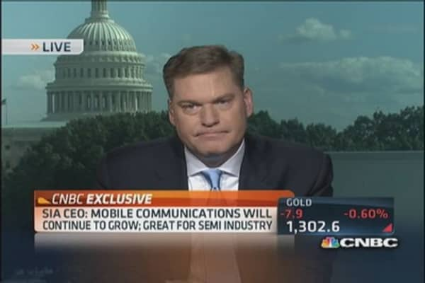 SIA CEO: 'We see mobile communications growing'