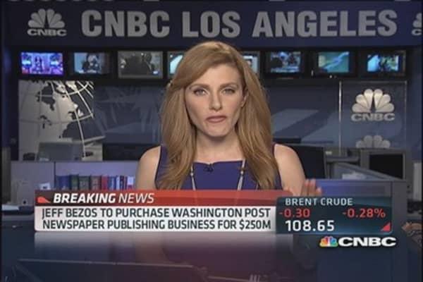 Washington Post's publishing business sold