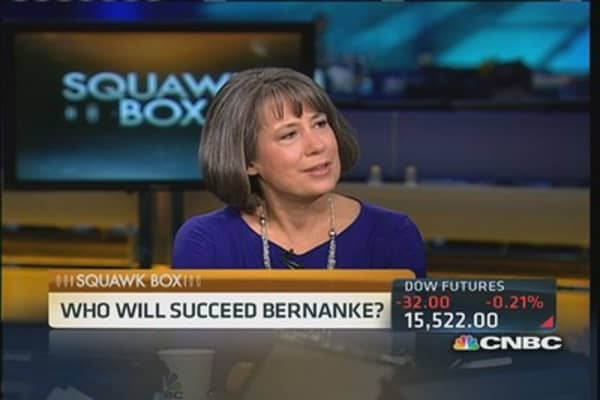 Bair: Why not Yellen to succeed Bernanke?